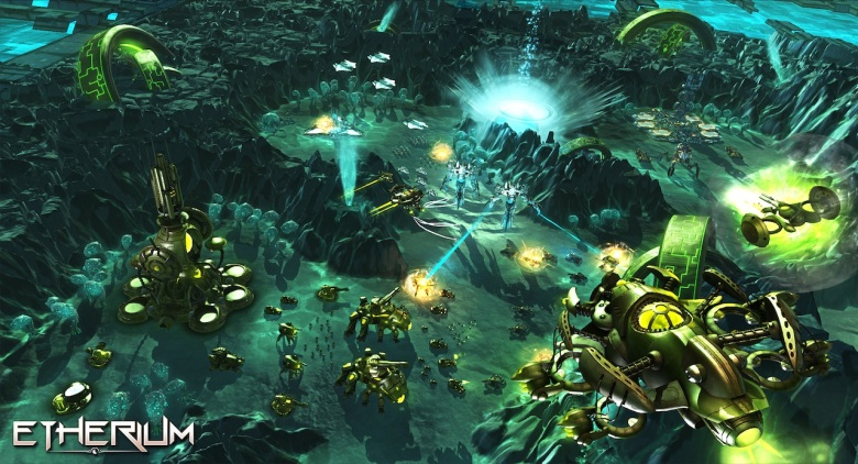 over the precious resource, Etherium , in new screenshots of the game ___