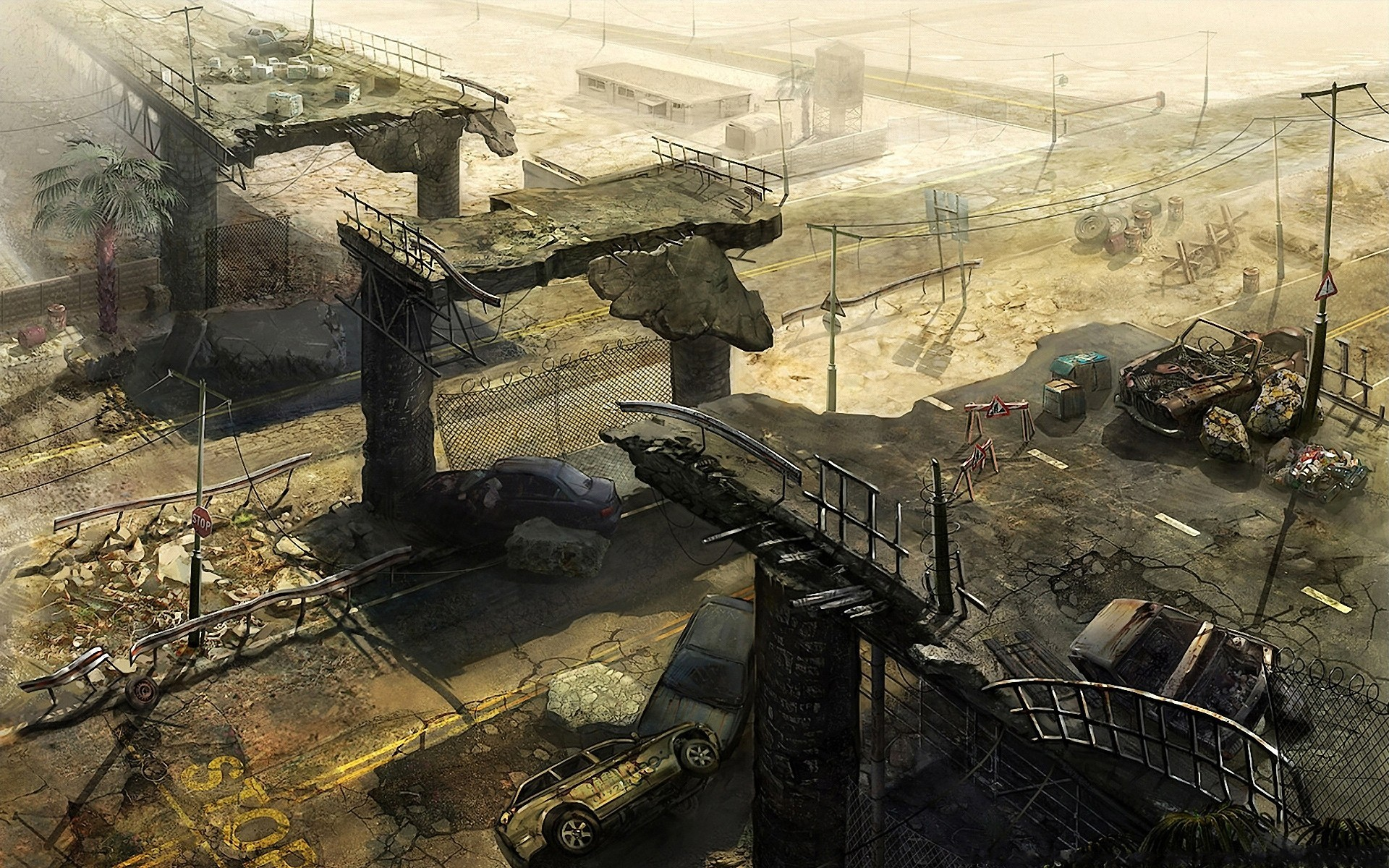 post-apocalyptic-city-ruins-fantasy-hd-wallpaper-1920x1200-7524