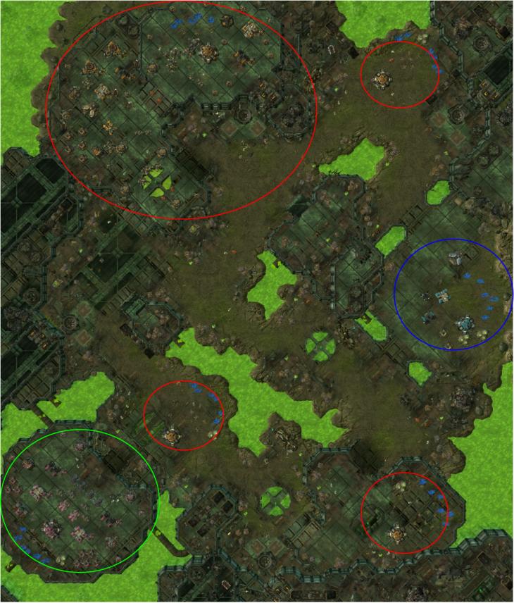 Cutthroat map