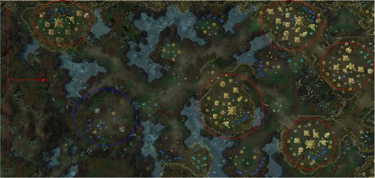 Supernova map